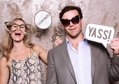 Engagement Party Photo Booth